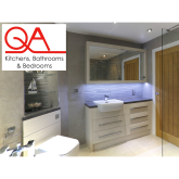 Why choose QA for your new kitchen or bathroom?