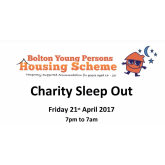 Get involved with the BYPHS charity sleep out!