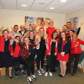 RED NOSE DAY FUNDRAISING A GREAT SUCCESS FOR SPECSAVERS OPTICIANS MARKET STREET