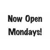 H2O Hairdressers are now open MONDAYS!