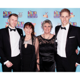 Dave Edwards has a ball as Little Rascals Foundation is launched in Shrewsbury