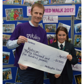 Wellington School strides to £30,500 fundraising success for Kidscan