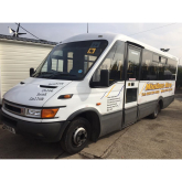 Where can I hire a reliable minibus in Bury?