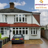 Letting of the Week – 4 Bed Semi Detached House – Ewell By Pass - #Stoneleigh #Surrey @PersonalAgentUK