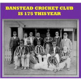 175th Anniversary for Banstead Cricket Club – read about the very first match @Banstead_CC #cricket