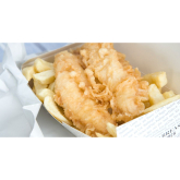 The National British Dish is Fish and Chips with All the Trimmings!