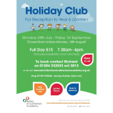 Book for the Bolton St Catherine's Academy Holiday Club 2017!