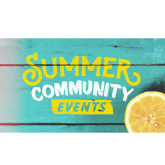 Check out these fun Summer events!