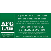 AFG LAW, Bury are recruiting