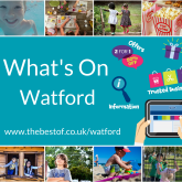 The Ultimate Guide to Keeping the Kids BUSY for FREE in Watford - 14 August to 18 August 2017 [WEEK 3]