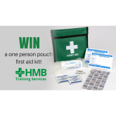WIN a one person pouch first aid kit from HMB Training Services!