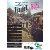 August Welwyn Garden Street Food Monthly plus Makes & Bakes Fair