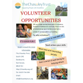 Volunteer Opportunities with The Chaseley Trust