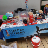 Supporting Help the Heroes in Watford