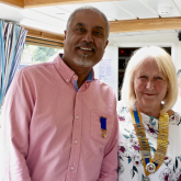 New President for Watford Rotary!