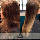 WORLD'S FIRST - Up to 3 months straight and healthy hair from a single shampoo!