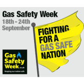 Gas Safety Week event at Tesco Hatfield
