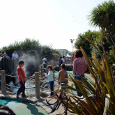 Three Schools Scoop Crazy Golf Maths Lesson
