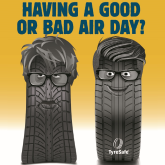 HAVE A GOOD AIR DAY WITH FREE ADVICE AND FREE TYRE CHECKS FROM TARGET TYRES