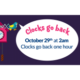 When do the clocks to back and why?