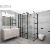 The new range of Drench Design Shower Enclosures are now available  only at Rothwell Tiles & Bathrooms.