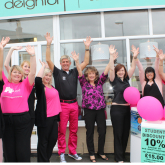 Wear It Pink at Deighton Hair & Beauty in Telford