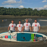 Easter Island Paddle Board Expedition by local Business Owners