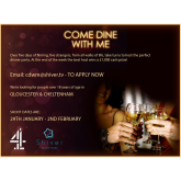 Come Dine With Me is Back and Casting in Gloucester
