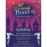Be our VIP journalist for the night and write a review of the Beauty & the Beast Pantomime