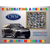 Crompton Way Motors celebrate 10 years in Business