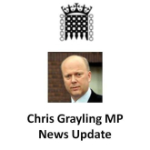 Update from Chris Grayling MP on @Epsom_StHelier @EpsomBusAwards Epsom Post Office  and @AgeConcernEpsom Charity Concert