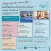 Christmas Spa Offers with The Last Drop Village Hotel and Spa