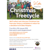 Christmas Treecycle with St Giles