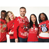 LED Light-Up Christmas Jumpers