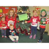 Christmas jumper day sees the good, the bad and the darn right wonderful on display at Telford nursery