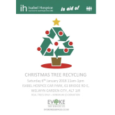 Recycle your Christmas tree with Evoke Tree Services and help Isabel Hospice