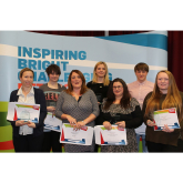 Outstanding students honoured at Petroc's Mid Devon annual awards evening