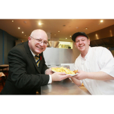 Kingfisher Chippy Celebrates 20 Years In Business As One Million Portions Of Chips Served At Stretford Mall