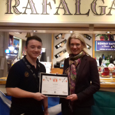 Amanda Milling MP crowns local Pub Chef of the Year.