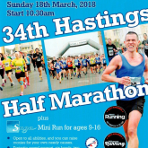 Hastings Half Marathon - it'll be here before we know it!