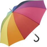 Promoting your business in the rain with umbrellas!