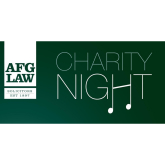 Sponsorship opportunities still available for the annual AFG LAW Charity Evening