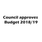 Council Tax Budget 2018 / 2019 approved