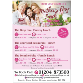 Come and join The Last Drop Village Hotel and Spa for their Mother's Day Lunch