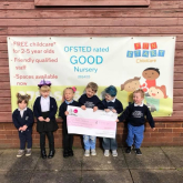 Fun Start Childcare receive grant to improve outdoor space at nursery