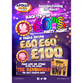 Take a trip back to the 60's at Apollo Bingo