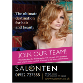Fantastic opportunity with top Shropshire Salon