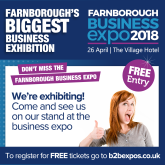 Thebestof Fleet and Farnborough to exhibit at Farnborough Business Expo