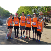 Marathon runners raise £36,000 for Phyllis Tuckwell Hospice