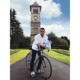 Cycle from Little Ben to Big Ben for the We Love Lichfield fund